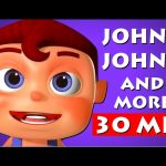 Johny Johny Yes Papa 3D | 3d Rhymes Collection | Nursery Rhymes Collection