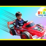 Playtime at the Park Batman vs Superman Monster Trucks Power Wheels Ride On Car for kids Spiderman