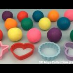 Play & Learn Colours Glitter Playdough Balls with Molds Fun and Creative for Kids