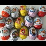 15 Surprise eggs Kinder Surprise marvel superheroes Frozen…