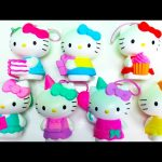 2014 Hello Kitty 40th Anniversary McDonald's Happy Meal Toys