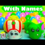40 Shopkins Season 2 Surprise Eggs With Names