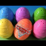 6 Disney Toy Surprise Easter Egg Set Pixar Cars 2 Lilo & Stitch & Princess Belle & Cinderella 2013