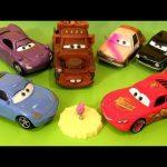 6 New Cars 2 Airport Mater, Lightning McQueen & Sally, Tubbs Pacer Paint Spray, Tolga Trunkov 2013