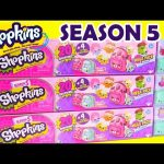 60 Shopkins SEASON 5 MEGA PACK Compilation with Toy Genie