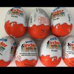 7 Kinder Surprise Chocolate Eggs