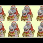 8 Christmas Kinder Surprise Santa Claus Army Surprise Eggs Mega Unboxing