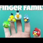 Angry Birds Finger Family Nursery Rhymes Song for Children