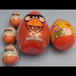 Angry Birds Surprise Egg Opening Party! Part 2