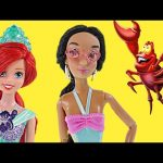 Ariel's Beach Shop with Disney Princess Jasmine – Barbie Doll Episodes by DCTC