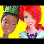 Ariel's Beach Shop with Disney Princess Tiana – Barbie Doll Episodes by DCTC