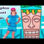 ASSISTANT Dolphin Hunt The Assistant Searches Real Life Dolphins Treasure Hunt Video