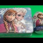 Baby Big Mouth Surprise Egg Lunchbox! Disney Frozen Edition! With a HUGE JUMBO Surprise Egg!