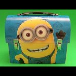 Baby Big Mouth Surprise Egg Lunchbox! Minions Edition!