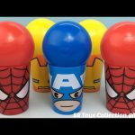 Balls Spider Man Surprise Cups My Little Pony Squishy Pops Avengers Mashems Shopkins Surprise Eggs
