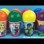 Balls Surprise Cups Disney Frozen My Little Pony Littlest Pet Shop The Good Dinosaur Surprise Eggs
