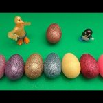Barbie Kinder Surprise Egg Learn-A-Word! Spelling Food! Lesson 21