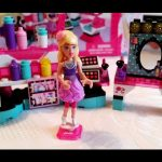 Barbie lego toys. Mega bloks for girl. Makeup set. Video from KIDS TOYS CHANNEL