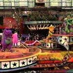 Barney in the 1997 Macy's Thanksgiving Day Parade