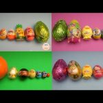Best of Surprise Eggs Learn Sizes from Smallest to Biggest Compilation!