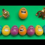 Big Hero 6 Surprise Egg Learn-A-Word! Spelling Food! Lesson 8