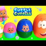 Bubble Guppies Stacking Cups Surprise Eggs Kinder My Little Pony, Disney Frozen