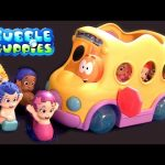 Bubble Guppies Swim Sensational School Bus Swim-Sational Autobús Escolar Nickelodeon Scuolabus