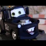 Cars 2 Stealth Mater Disneystore Chase collection Disney Pixar figure toy review
