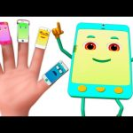 Cellphone Finger Family 3D | Finger Family Rhymes | 3d Music Video For Children