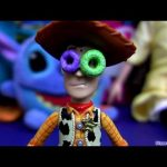 Cereal dunk Woody Toy Story toy review brinquedos Sheriff collectibles