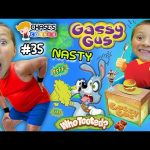 Chase's Corner: GASSY GUS & WHO TOOTED?  Eat, Fart, Repeat! 😳 Kids Board Game (#35) | DOH MUCH FUN
