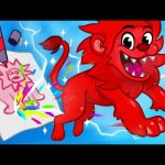 Children's Drawings Come Alive through Animation – Morphle's Mailbox Episode #3