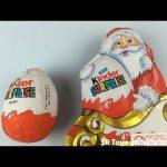 Christmas Santa Claus Kinder Chocolate Surprise Eggs Huevos Sorpresa