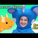 D Is for Dinosaur | Dinosaur Stomp #Readalong | Mother Goose Club Songs for Children