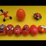Disney Cars Surprise Egg Learn-A-Word! Spelling Birds! Lesson 2