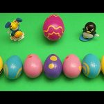 Disney Cars Surprise Egg Learn-A-Word! Spelling Farm Animals! Lesson 8