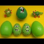 Disney Cars Surprise Egg Learn-A-Word! Spelling Fruit! Lesson 4