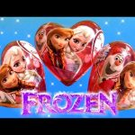 Disney FROZEN Valentine's Day SURPRISE HEARTS ❤ Princess Anna Elsa OLaf the Snowman ToysCollector