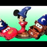 Disney Infinity Sorcerer Apprentice Mickey Play Doh Sorcerer Lightning McQueen Disneyplaydough Mater