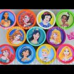 Disney Princess Play doh Cans Surprises ZOOTOPIA Inside Out Hello kitty Toys Princesas