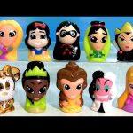 Disney Wikkeez Heroines Princesses Villains Surprise Box ❤ Gold Minnie Mouse Mulan Belle Cruella