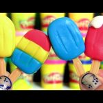Dough Sweets Playset DIY Learn to Mold Play Doh Popsicles Sundaes Ice Cream Cones & Frozen Ice Pops