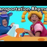 Driving in My Car and More Transportation Rhymes! | Nursery Rhymes from Mother Goose Club!