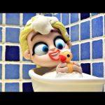 Elsa is the WORST date! Short Frozen Movie Clips with Superheroes (Play Doh Animation)