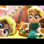 Elsa's New Pet * Disney Frozen Movie Clips Play doh Stop Motion * Elsa's World
