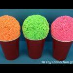 Foam Clay Surprise Eggs Minnie Mouse Disney Frozen Hulk Marvel Disney Tsum Tsum Surprise Bags & Toy