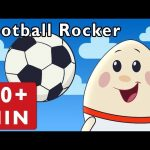 Football Rocker and More   Nursery Rhymes from Mother Goose Club!