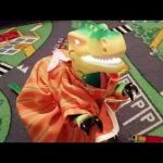 Fun toys for kids . Surprise dinosaurus for birthday present.  Video 2015