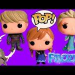 Funko POP Disney Frozen Elsa Anna Kristoff Sven Vinyl Action Figure Princess ♥ Toys Review