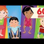 Head Shoulders Knees & Toes + More | Nursery Rhymes | Super Simple Songs